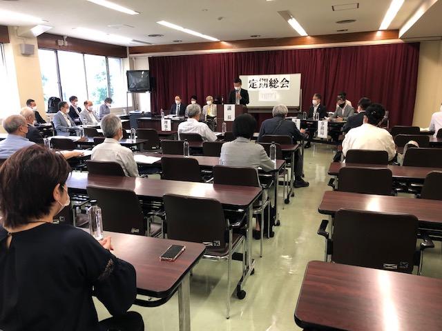 総会を開催しました。理事長変更のお知らせ